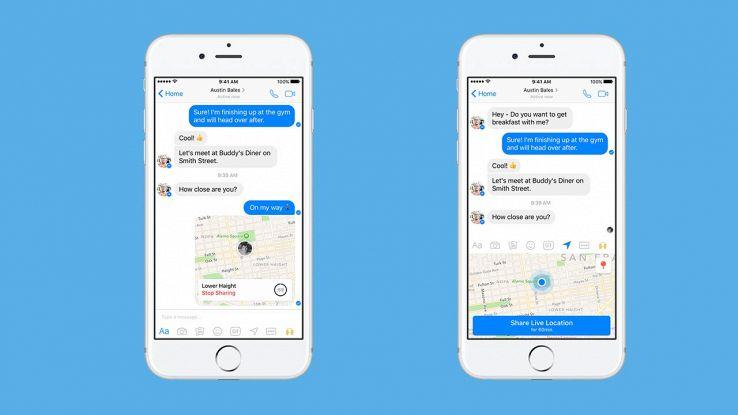 Come usare la nuova funzione Facebook Live Location su iPhone