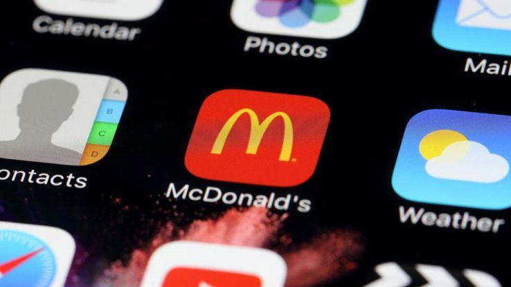 Ordinare cibo a domicilio, app McDonald's lanciata negli USA
