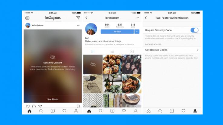 Instagram, introdotta la funzionalità che offusca le foto offensive