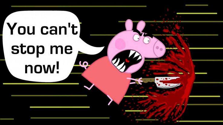 Peppa Pig inquietante