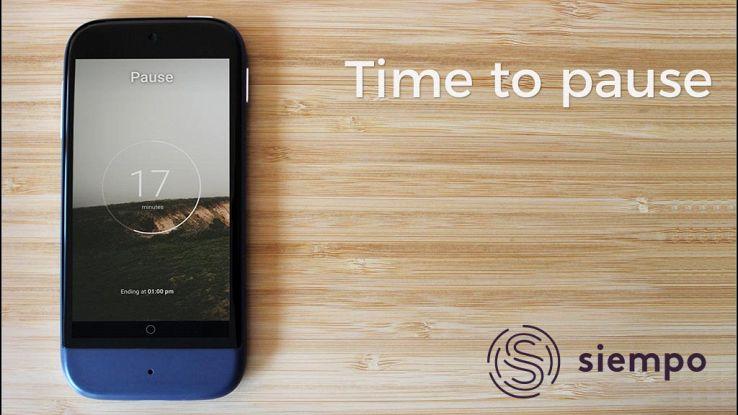 Siempo, lo smartphone che combatte la dipendenza da smartphone