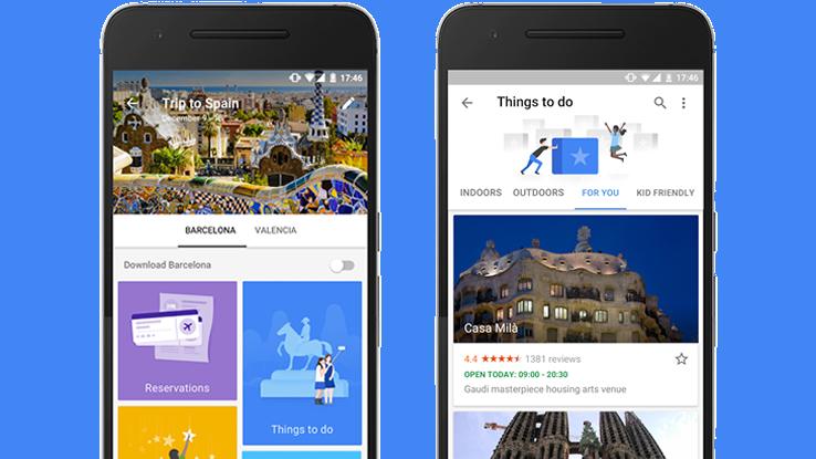 Organizzare viaggi online sarà più semplice con Google Trips