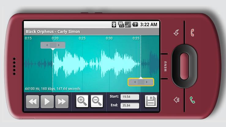Come trasformare una canzone in una suoneria per Android
