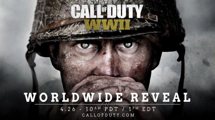 Call of Duty WWII sarà presentato il 26 aprile