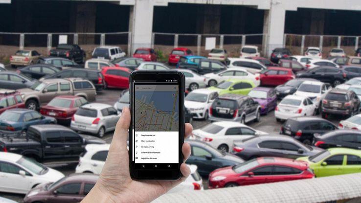 Ritrova l'auto parcheggiata con Google Maps