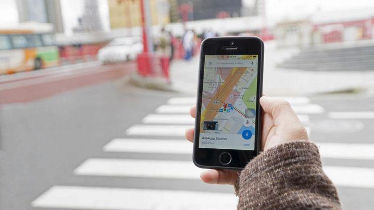 Google Maps in città