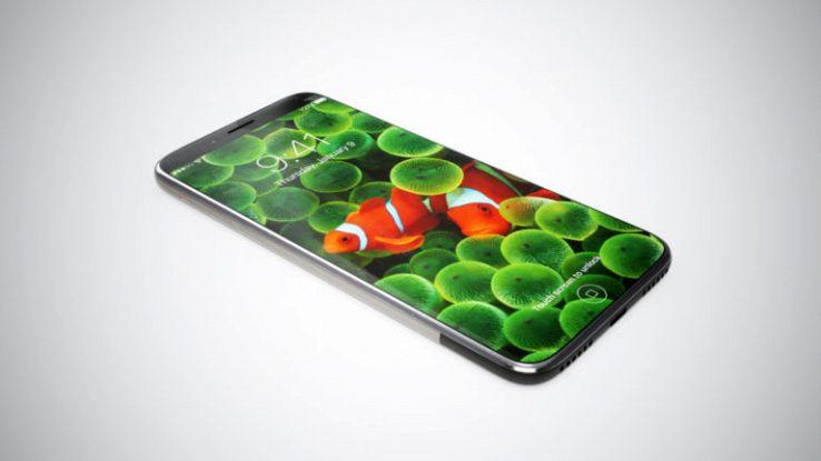 """IPhone 8 con sensore di impronte e fotocamera anteriore """"invisibile"""""""