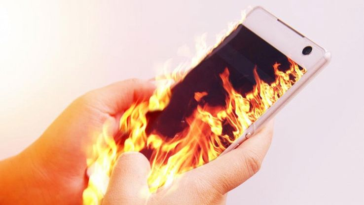 smartphone-a-fuoco