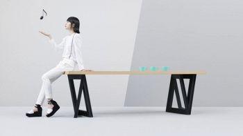 Sound Table, il tavolo smart che si connette a Internet