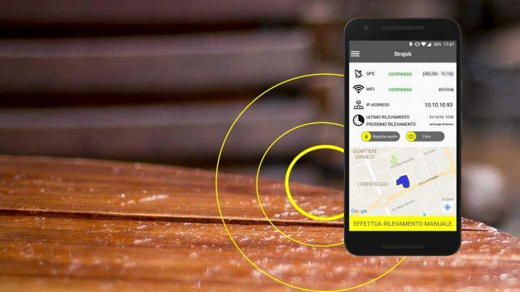 Strajob, l'app che combatte il lavoro in nero