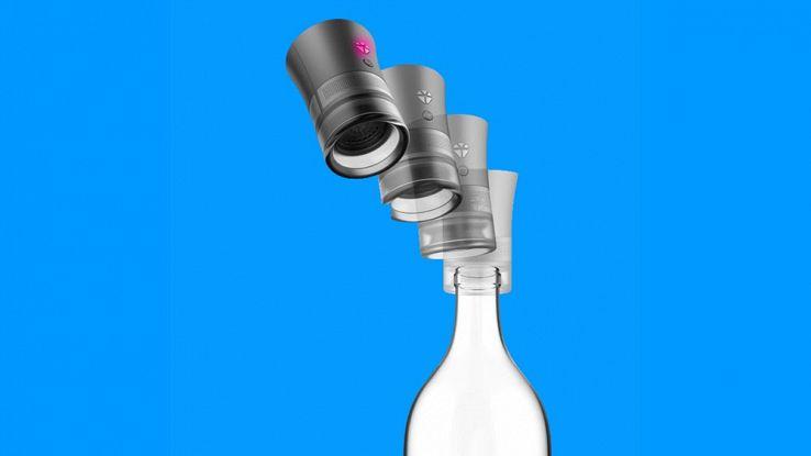 Cork Speaker, il tappo smart che trasforma la bottiglia in cassa