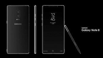 Galaxy Note 8, presentazione prevista entro a fine dell'estate