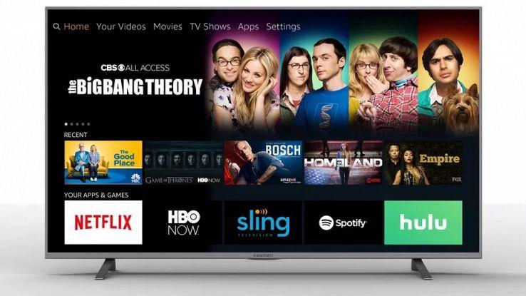 Amazon lancia Fire TV, televisore 4K con Alexa a bordo