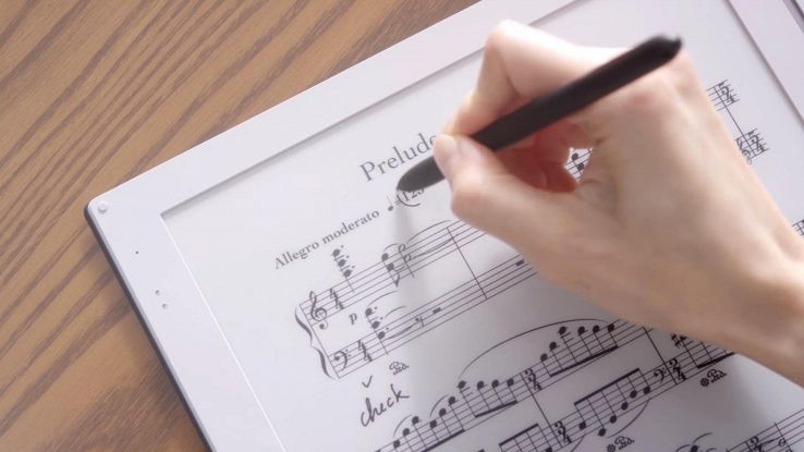 Gvido, il Kindle per i musicisti