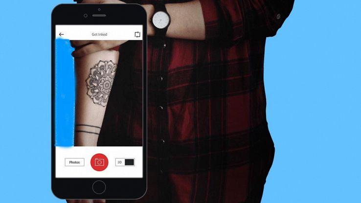 Le app per provare i tatuaggi sul corpo prima di farli