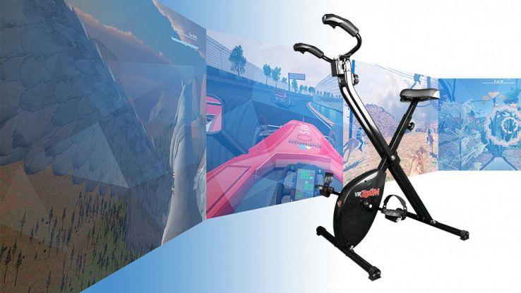VirZOOM, la realtà virtuale che ti fa perdere peso