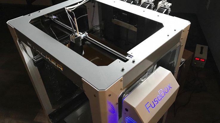 FuseBox, la stampante 3D al plasma per oggetti più resistenti