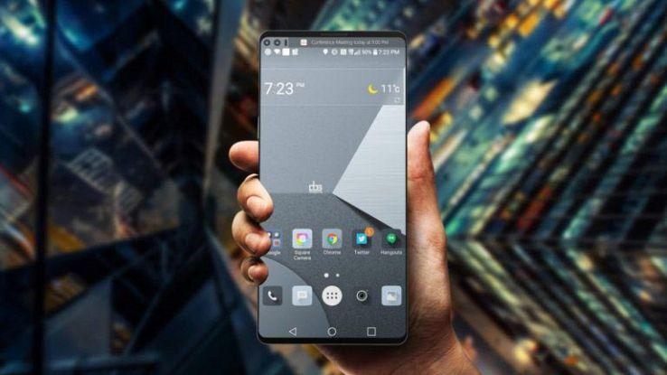 LG V30 arriva a settembre con doppia fotocamera anteriore e posteriore
