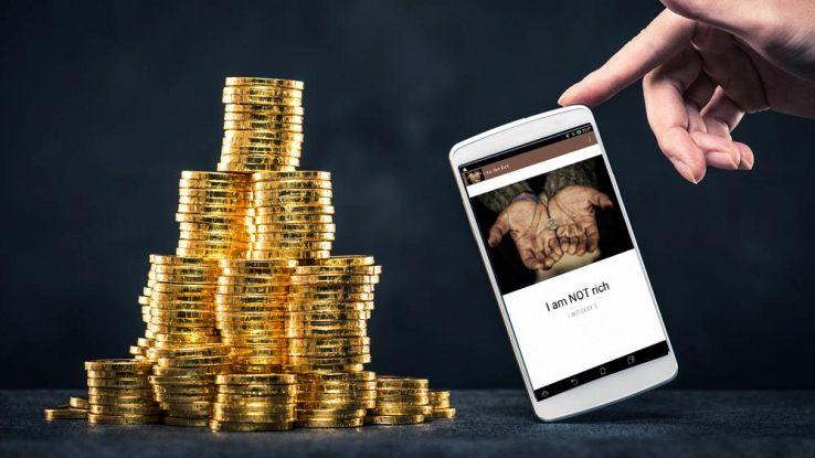 I am not rich, l'app che costa 350 euro e non fa nulla