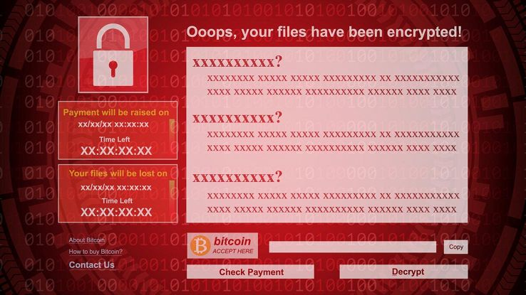 Attacco ransomware in corso