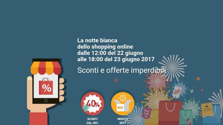 Crazy Web Shopping, il 22 giugno arriva la notte bianca digitale