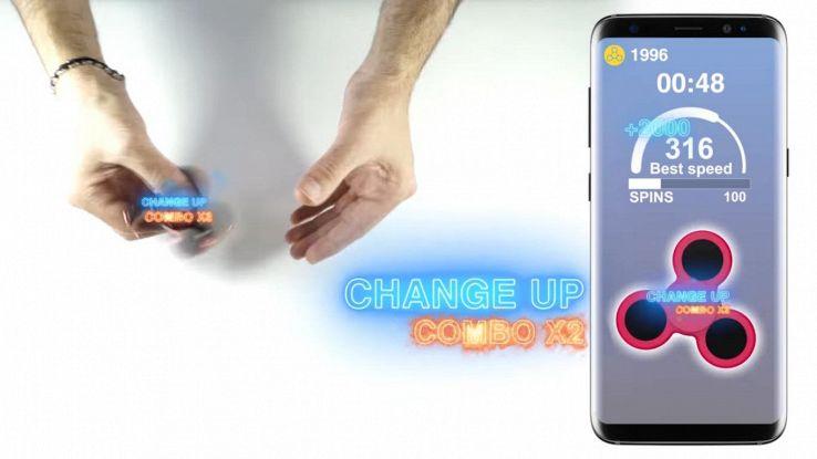Bluespin, lo spinner con Bluetooth per sfidare gli amici a distanza