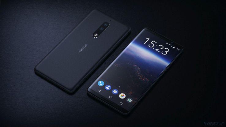 Rendering Nokia 9