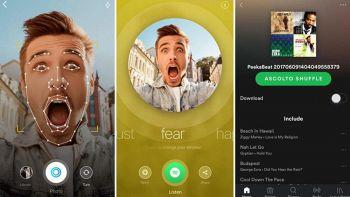 Interfaccia iPhone di Peekbeat