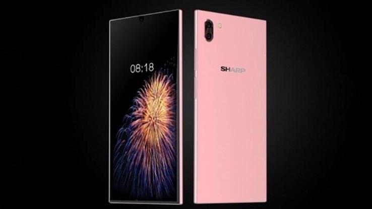Sharp, pronto uno smartphone rivoluzionario: primo senza alcun bordo