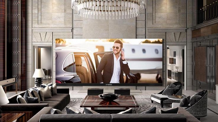Il televisore 4K più grande del mondo, costa più di un appartamento
