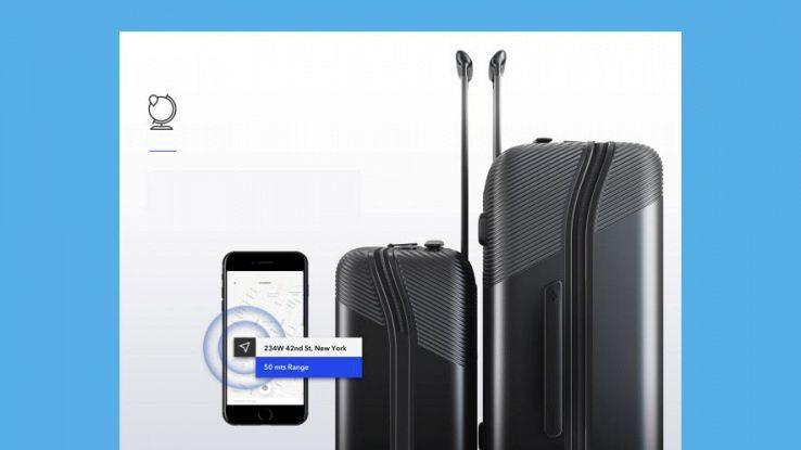 BlueSmart, le valigie con GPS impossibili da perdere