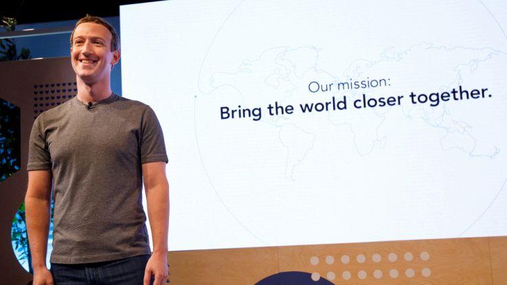 Mark Zuckerberg al Community Summit