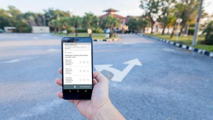 Accessibilità Google Maps