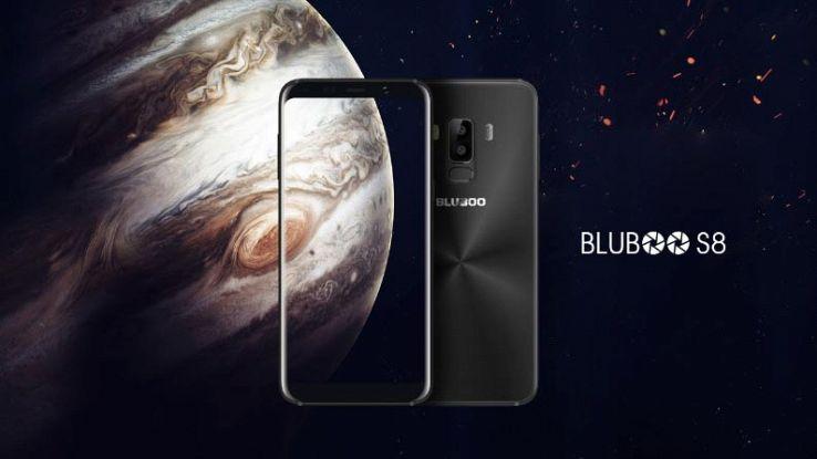 Bluboo S8, il clone cinese del Galaxy S8 costa meno di 150 euro
