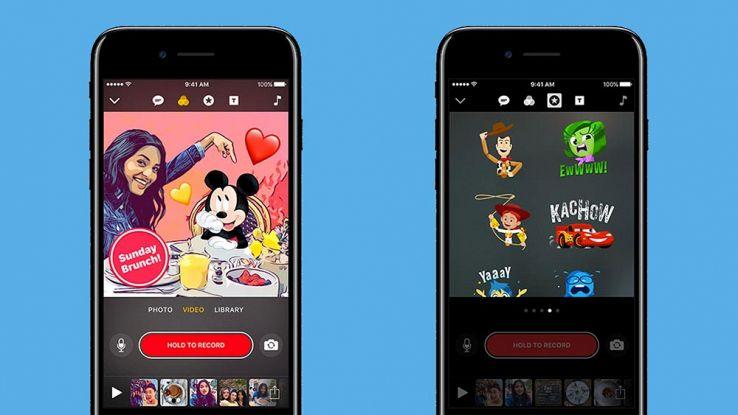 Apple Clips, arrivano i personaggi di Disney e Pixar