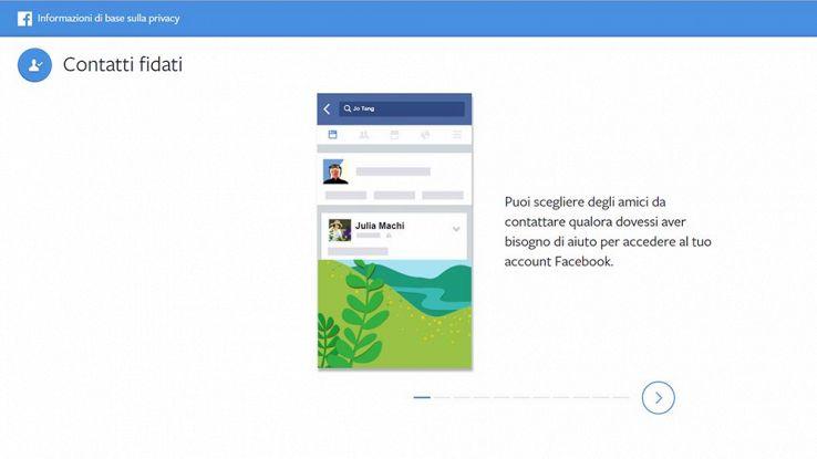 Come recuperare i dati di accesso a Facebook grazie ai Contatti Fidati