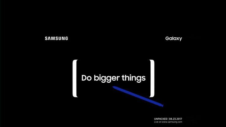 Samsung, il Note 8 sarà presentato il 23 agosto a New York