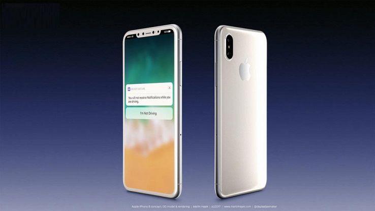 IPhone 8, schermo OLED da 5,8 pollici e nuove indiscrezioni