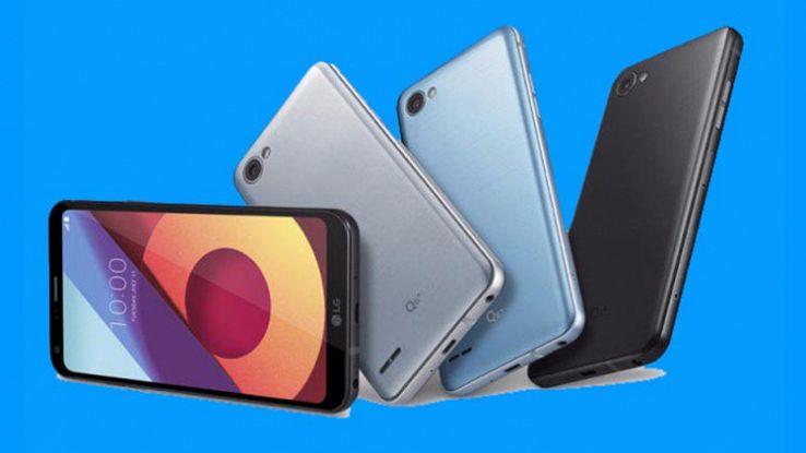 LG Q6, lo smartphone compatto con schermo Full Vision