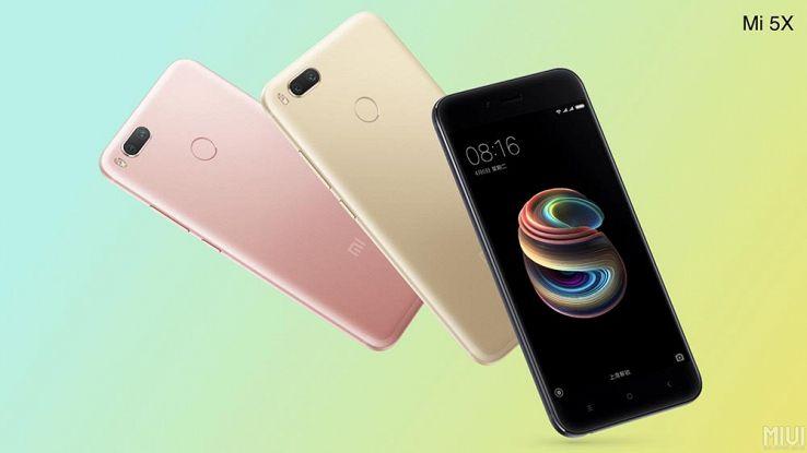 Xiaomi Mi 5x ufficiale: doppia fotocamera posteriore e schermo da 5,5'