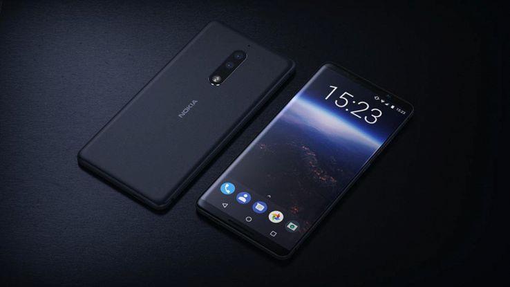 Nokia, per il 2018 in arrivo uno smartphone simile al Galaxy S8