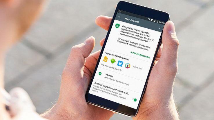 Rilasciato Play Protect, lo strumento Google per proteggere Android