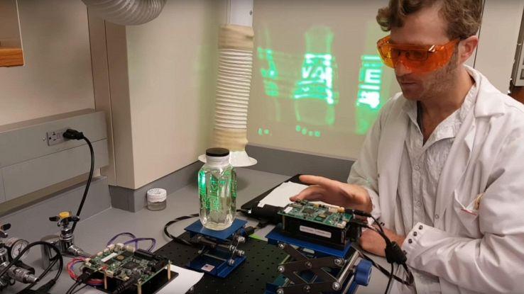 """SMU 3D, l'ologramma tridimensionale """"liquido"""" ispirato a Star Wars"""