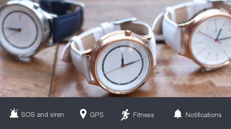 Carah, lo smartwatch per donne con sirena di sicurezza