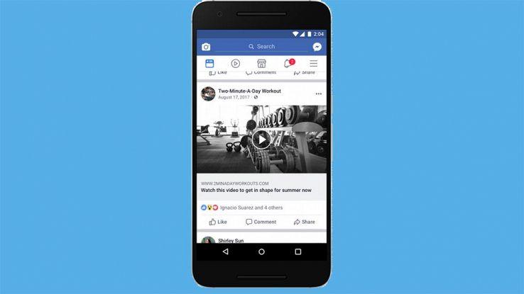 Facebook, lotta ai post con falsi video