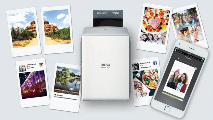 Instax Share SP-2, la stampante portatile di Fujifilm