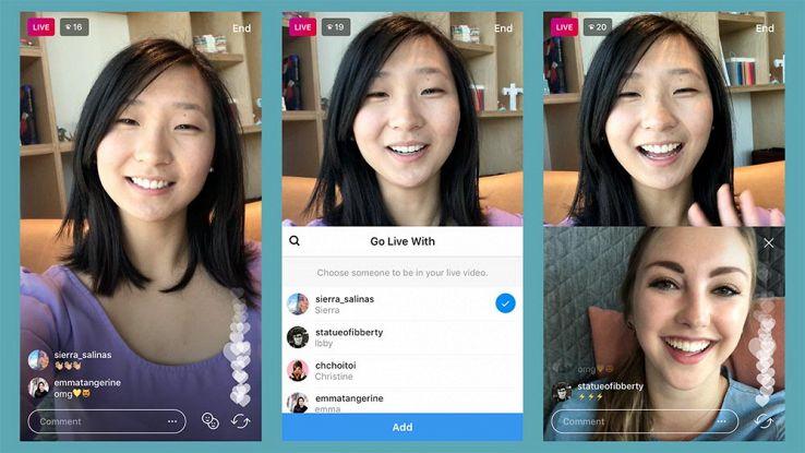 Come fare un Live con gli amici su Instagram