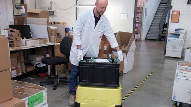 Jobot, il robot low cost per l'Industria 4.0 italiana