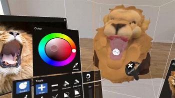 MasterpieceVR, realizzare dipinti in realtà virtuale