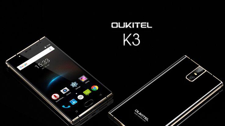 Oukitel K3, smartphone con quattro fotocamere e una batteria infinita